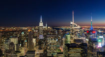 NYC Night - Colour von Russell Bevan Photography