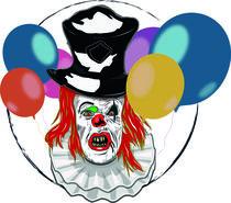 Maul und Clown Seuche von danielaschlechmair