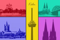 Köln Collage by Gabi Siebenhühner