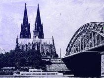 Kölner Dom by Gabi Siebenhühner