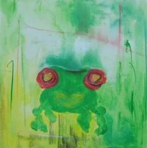 ein glücklicher Frosch von Marie Luise Badekow