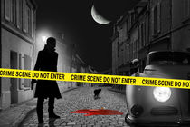 Crime scene do not enter by Monika Juengling
