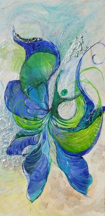 blau und grün von Heike Hild