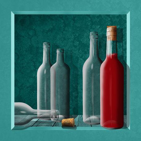 Rahmen-flaschen