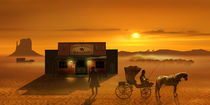 Der Wild West Saloon by Monika Juengling