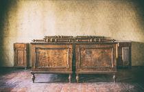 altes Bett von Michael Wallisch