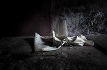 altes Weinglas von Michael Wallisch