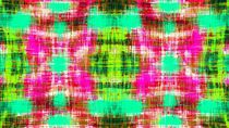 pink green blue and red plaid pattern abstract background by timla