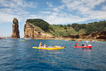 Kayaking in Azores by Gaspar Avila