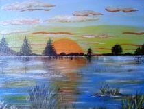 wieder ein Sonnenuntergang von Kathrin Körner