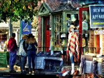 New Hope PA - Shopping Along Main Street von Susan Savad