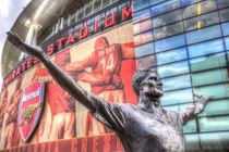 Tony Adams Statue Emirates Stadium von David Pyatt