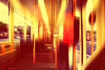 tram story II von micha gruenberg