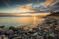 Goldenes Meer by ostseebilder