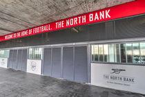 Arsenal FC Emirates Stadium London North Bank von David Pyatt