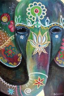 Indischer Elefant von roosalina
