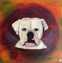 Old Englische Bulldogge  by roosalina