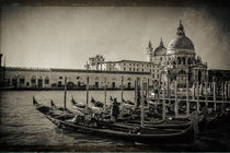Gondeln in Venedig by foto-m-design