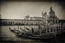Gondeln in Venedig von foto-m-design