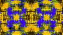 yellow purple and black plaid pattern abstract background by timla