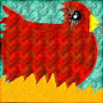 Chicken Lady by claudja