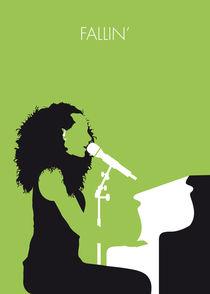 No066 MY ALICIA KEYS Minimal Music poster by chungkong