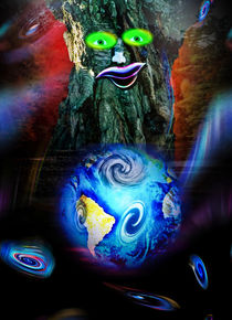 Unser blauer Planet freut sich von Walter Zettl