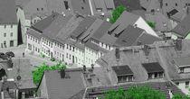 Über den Dächern von Stolpen von Gabi Siebenhühner