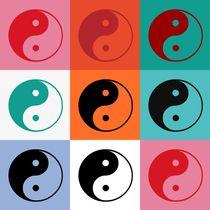 Yin Yang Popart by Gabi Siebenhühner