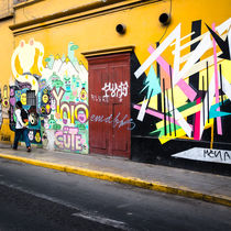 Streets of Lima by Robert Urbach