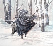 Blue Wizard von Rebecca Magar