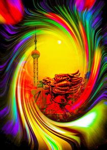 Sanghai - Oriental Pearl Tower 2 von Walter Zettl