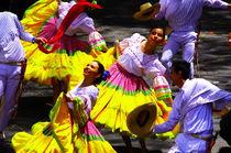 Folk dances of Colombia by Daniel Steeves