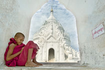 Child monk by Manuel Bruque
