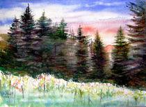 Sommerlandschaft by Irina Usova