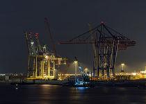 Hafen im Abendlicht von fotolos