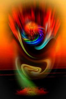 Himmlische Erscheinung 4 by Walter Zettl