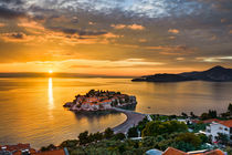 Adriatic Sunset von Michael Abid