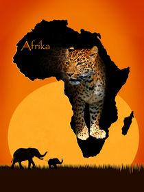 Afrika der schwarze Kontinent von Monika Juengling
