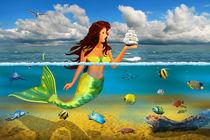 Die Meerjungfrau by Monika Juengling