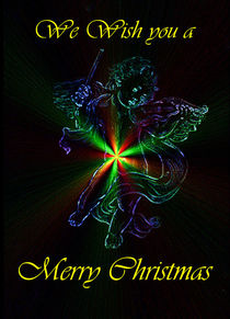 We wish you a Merry Christmas by Walter Zettl
