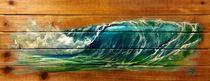 Emerald Surf on Deck von Marco Antonio Aguilar