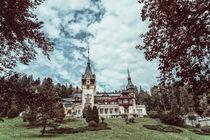 Neo-Renaissance Peles Castle Built In 1873 In Carpathian Mountains by Radu Bercan