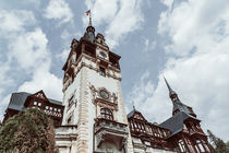 Neo-Renaissance Peles Castle Built In 1873 In Carpathian Mountains von Radu Bercan