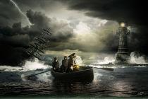 Ratten verlassen das sinkende Schiff by Wolfgang Pfensig