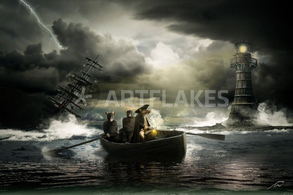 Die ratten verlassen das sinkende schiff