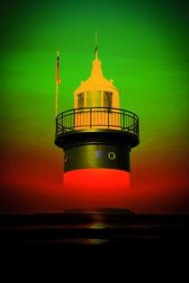 Leuchtturm - Romantik 4 by Walter Zettl