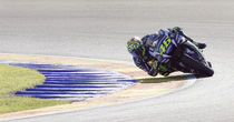 Valentino Rossi in Valencia by Manuel Bruque