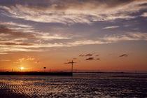 Sonnenuntergang Wattenmeer Schillig by renard