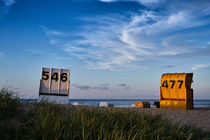Strandkörbe 546 | 477 von sven-fuchs-fotografie